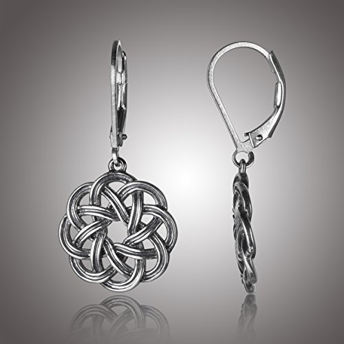 b4cb3b630 925 sterling silver; Oxidized finish to enhance detail and depth in jewelry  design. Celtic knot jewelry inspired by the interlacing and continuous  designs ...
